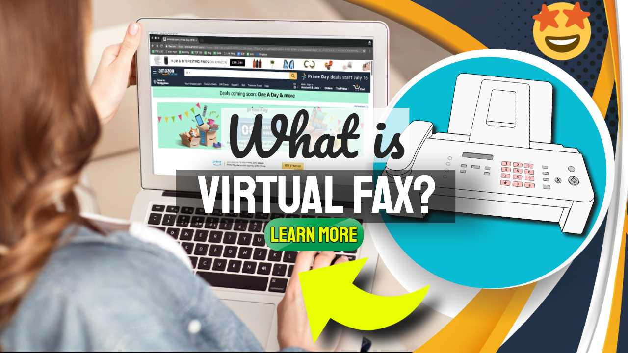 """Featured image text: """"What is virtual fax?""""."""